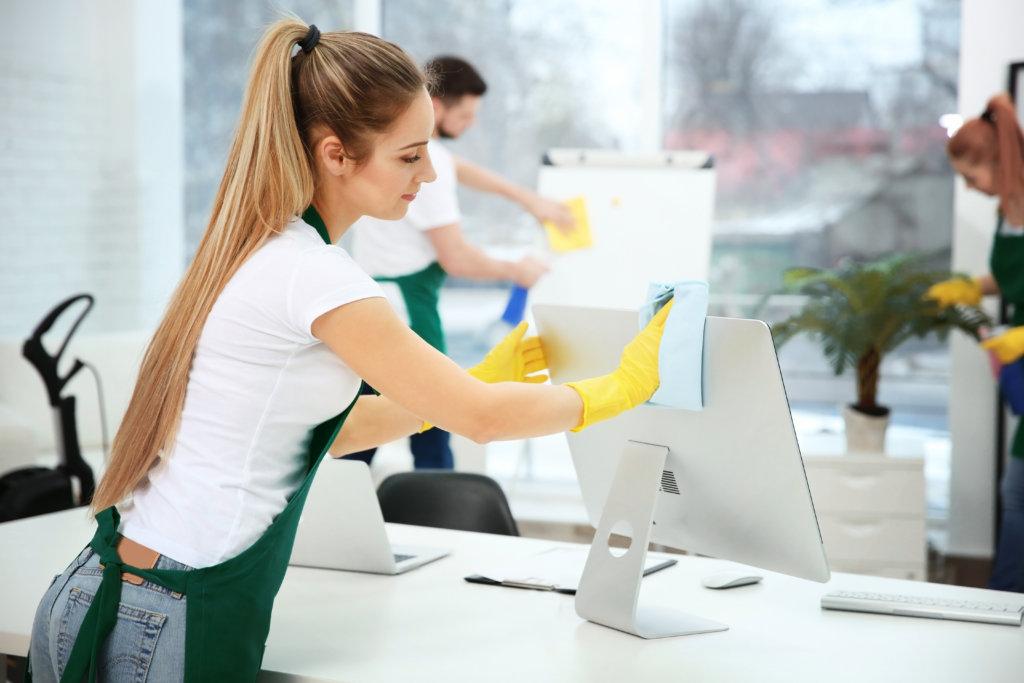 Servicio de limpieza en empresas