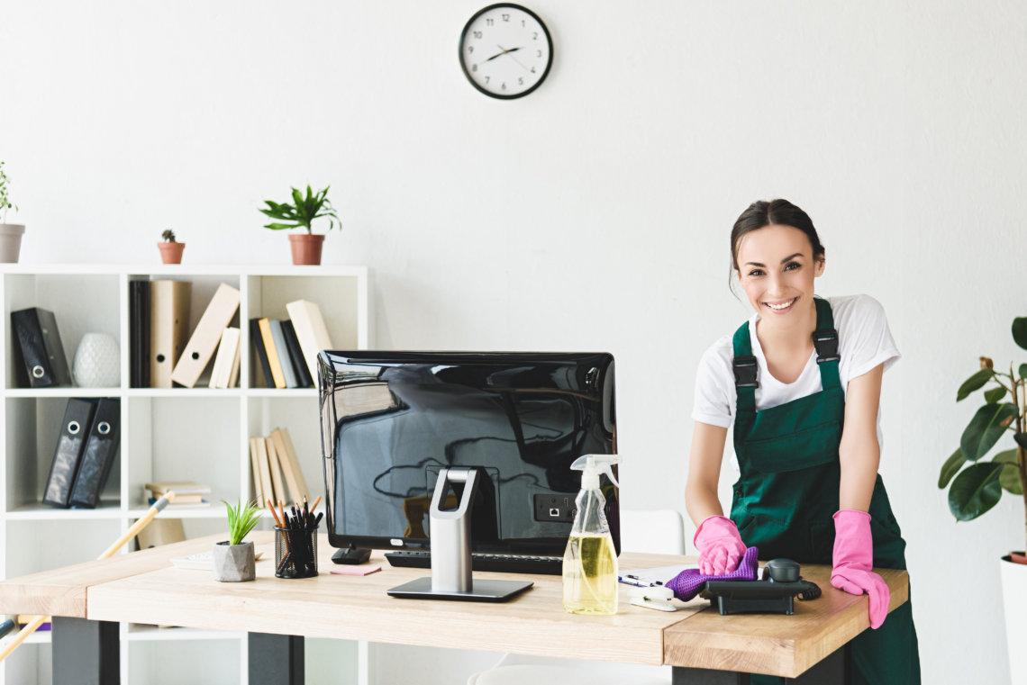 La importancia de la limpieza en la oficina