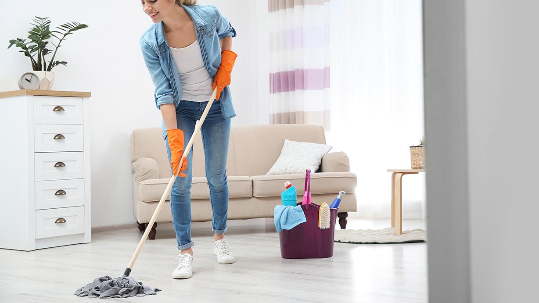 Lista de utensilios de limpieza para el hogar