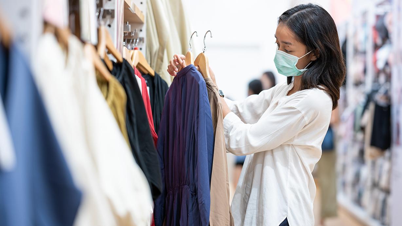 Ozono contra el coronavirus en las tiendas
