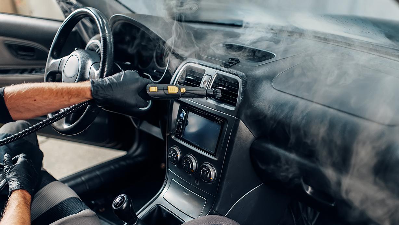 Limpieza con ozono para el coche