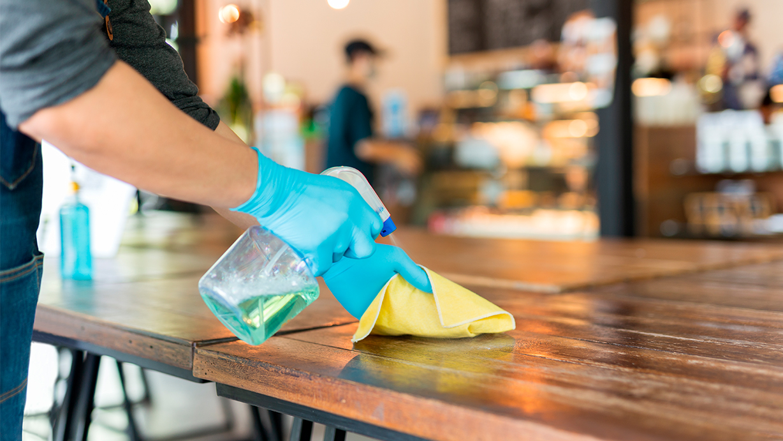 Plan de limpieza y desinfección de un restaurante